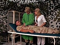 Injured soldier blown wide of sexy be responsible for