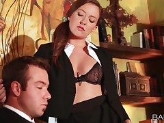 Assistant Maddy Oreilly seduces her chief