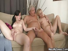 His mother toying while dad fucking his GF