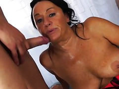 Scambisti Maturi - Italian 4some with mature assfuck Laura