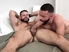 MANALIZED Brendan Patrick Spunks While Hung Guy Plows Him